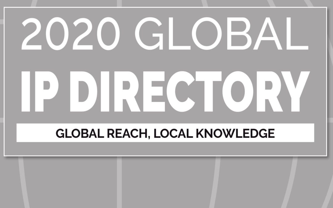 Global IP Directory 2020 OUT NOW
