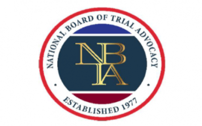 The National Board of Trial Advocacy offers new board certification in Patent Litigation